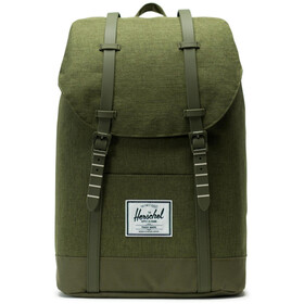 Herschel Retreat Backpack 19,5l, olive night crosshatch/olive night